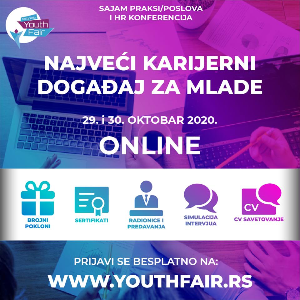 Belgrade youth fair 2020