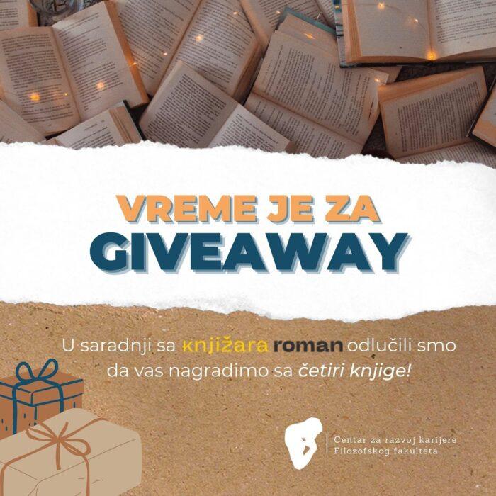 Giveaway sa knjižarom Roman