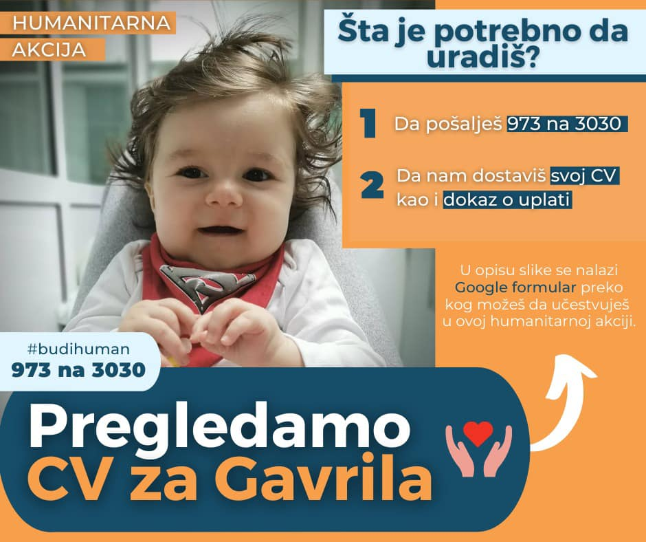 Humanitarna akcija za Gavrila