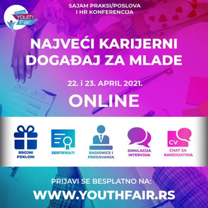Prijavi se za Belgrade Youth Fair