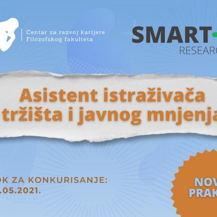 Konkurs za praksu u agenciji Smart Plus Research